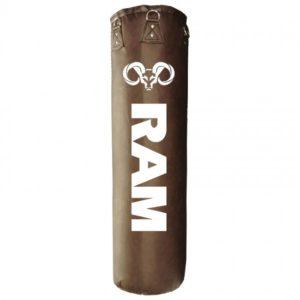 Bruine gigantor bokszak, 150 cm, de RAM O2.